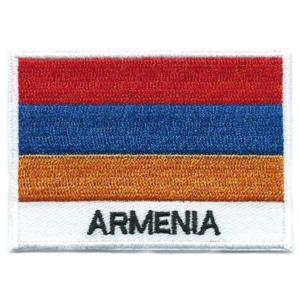 Armenia national flag patch