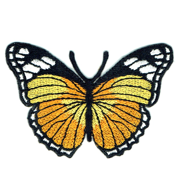 Monarch Butterfly Yellow
