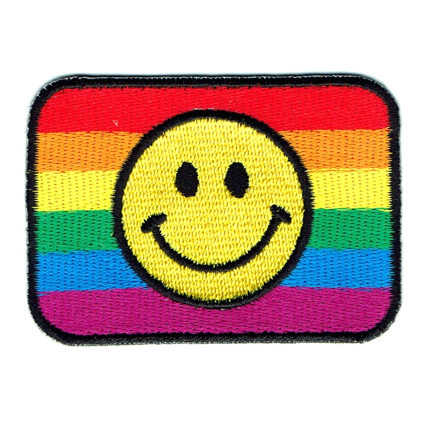 Rainbow Smiley Flag