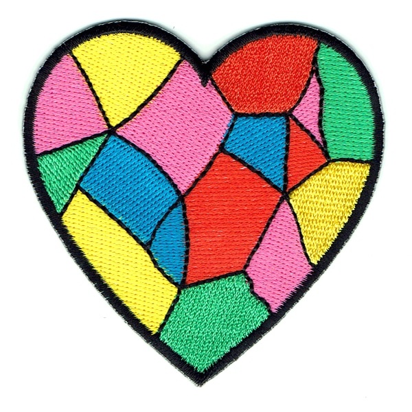 Patchwork Heart Patch