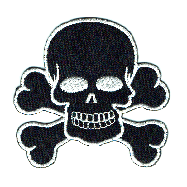 Black Skull and Cross Bones